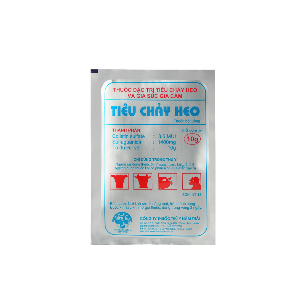 TIEU CHAY HEO (SWINE DIARRHEA)